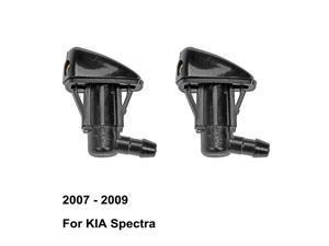 Windshield Washer Nozzle 986302E500 986302E100 for KIA Spectra ( 2007 - 2009 ) ( Pack of 2 )