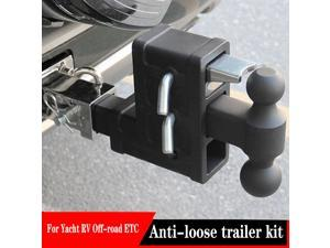 Duty Combo Pintle Hook Tow Hook Hitch Towing Truck Trailer for JEEP Wrangler Mitsubishi Pajero Toyota Road Rover Range