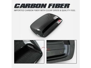 For Subaru Legacy 03-09 BP BL BH BE K2 Type Carbon Fiber Hood Scoop Vents Ducts Trim Bodykits