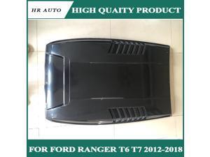 Black Bonnet Scoop Hood For Ford Ranger Wildtrack T7 For Ford Endeavour Everest 2016 2017 2018 2019