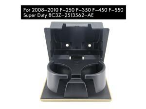 Front Dashboard Ash Tray Cup Holder Camel Tan for 2008-2010 Ford F250 F350 F450 F550 Super Duty 8C3Z-2513562-AE