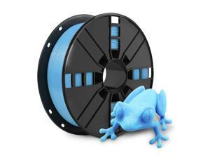 3D Printer Filament - Sky Blue 1.75mm PLA Filament, PLA 1kg(2.2lbs), Dimensional Accuracy +/- 0.03mm