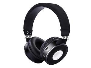 Noise Cancelling Headphones, Gaming Headset 60 Hours Standby Time, Bass, Memory Foam Bluethooth Headphones, Suitable for Gaming, Work and Travel