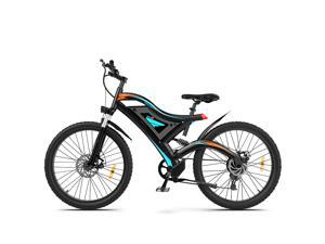 """AOSTIRMOTOR Electric Bike, Aluminum Alloy 500W Electric All Terrain Bike, 26"""" Fat Tire Ebike, 7-Speed Shimano Gears, 48V 15Ah Removable Lithium Battery,PAS Intelligent Pedal S05"""
