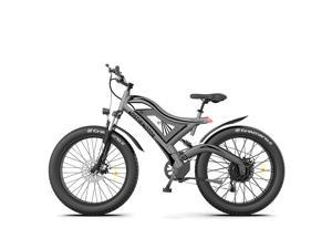 """AOSTIRMOTOR Electric Bike,26"""" 4.0 inch Electric Fat Tire Ebike, 750W Motor Electric Mountain Bike 48V 15AH Removable Lithium Battery, Electric Bicycle for Adults,6061 Aluminum Alloy Frame,S18"""