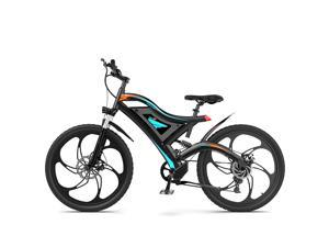 """AOSTIRMOTOR Electric Bike,500W Motor,48V 15Ah Removable Lithium Battery,26"""" Fat Tire Ebike, Aluminum Alloy Frame,7-Speed Shimano Gears,  Electric Mountain Bike, S05-1"""