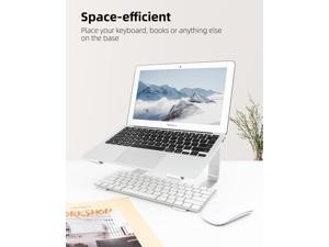 Laptop Stand, Computer Stand for Laptop, Aluminium Laptop Riser, Ergonomic Laptop Holder Compatible with MacBook Air Pro, Dell XPS, More 10-17 Inch Laptops Work from Home