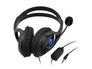 3.5mm Wired Gaming Headphones Over-Ear Stereo Bass Earphone Headset with Microphone