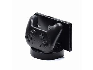 Switch Controller Charger Joy-Con Charging Dock Station 6 In 1 Charger Seat Compatible with Nintendo Switch Joy-Con Pro Controller Switch Console