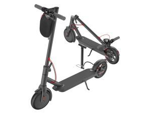 "Electric Scooter Adult, Portable Folding E-Scooter 8.5""Tire Full Range up to 15.8Mile 15.8MPH, Black"