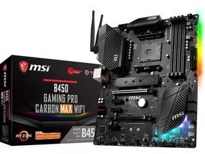 MSI B450 GAMING PRO CARBON MAX WIFI AM4 AMD B450 SATA 6Gb/s ATX AMD Motherboard