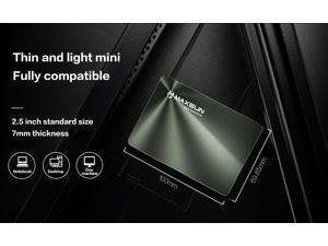 MAXSUN Internal SSDs 240 GB 480 GB Laptop Internal Solid State Drives Desktop 120GB 128GB 256GB Solid 520MB/s 1TB SATA