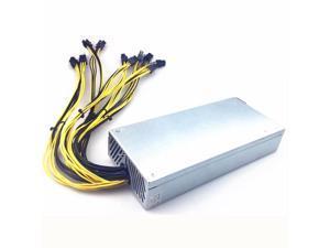 1800W 12V Mining Antminer PC Power Supply 1800W PSU 6 Pin Antminer S9 ant miner l3 ETH Ethereum PSU Miner Bitmain PSU AWP7