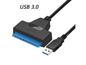 USB SATA 3 Cable Sata To USB 3.0 Adapter UP To 6 Gbps Support 2.5Inch External SSD HDD Hard Drive 22 Pin Sata III A25 2.0 USB 3.0