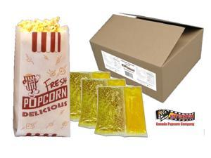 6 oz HTD Authentic Theater Popcorn Portion Packs - 36 Pack