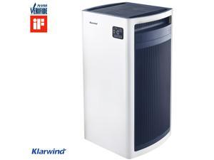 Klarwind Blue 500S Smart Air Purifier with Advanced 5-stage filtering system.  True HEPA Filter,  Auto Mode,  CADR rated for 673 square feet room size.