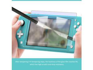Lejiahong Tempered Glass Screen Protector for Nintendo Switch Protective Film Cover for Switch Lite NS Accessories
