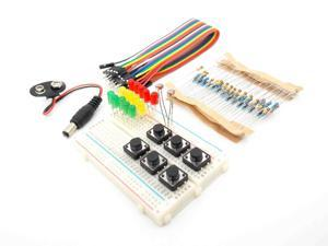 Lejiahong new Starter Kit for UNO R3 mini Breadboard LED jumper wire button for Arduino