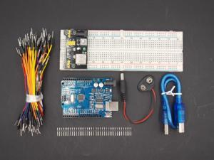 Lejiahong starter Kit Uno R3 MB-102 830 points Breadboard, 65 Flexible jumper wires , USB Cable and 9V Battery Connector