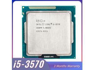 Lejiahong for intel Core i5-3570 I5 3570 Processor i5 3570 LGA1155 PC computer Desktop CPU Quad-Core CPU 3470 3770 core i5 3570