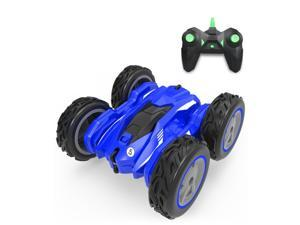 Stunt RC Car Double Sided Rotating Tumbling Off-Road Toy Car, 4WD High-Speed Racing All-Terrain Climbing Car