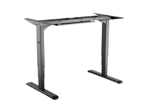 Star Ergonomics 3Stage Reverse Dual Motor Electric Sit-Stand Desk Frame SE06E1FB [Tabletop Not Included]
