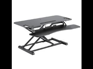 Star Ergonomics SE01M1WB Height Adjustable Sit Stand For Desktop Workstation