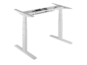 Star Ergonomics 3 Stage Dual Motor Electric Sit-Stand Desk Frame- SE07E1FW [Tabletop Not Included]