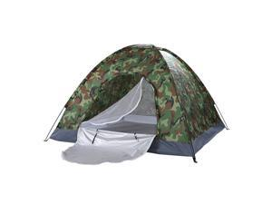 Camping Tent for 2-4 Person, Family Dome Waterproof Backpacking Tent Easy Setup, Great for Hiking and Mountaineering, BT02
