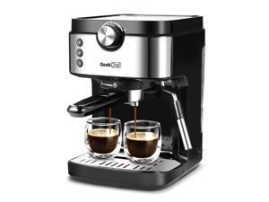 Espresso Machine 20 Bar Coffee Machine With Foaming Milk Frother Wand, 1300W High Performance No-Leaking 900ml Removable Water Tank Coffee Maker For Espresso, Cappuccino, TO72