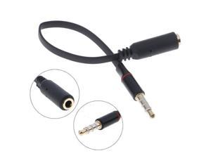 1Pc 3.5mm audio jack male to female headphone extender cable for phone tablets