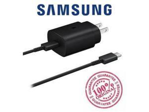 Original Genuine Samsung 25W USB-C Super Fast Charging Wall Charger Compatible with Samsung Galaxy S10 5G  - Upto 3x Faster Charging!