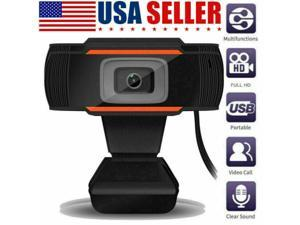 Webcam 1080P with Microphone HD Web Cam, USB Computer Web Camera Video Cam for Streaming Gaming Conferencing Mac Windows PC Laptop Desktop