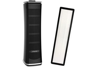 UNbeaten HDAPUS-093B Air Purifier True HEPA Filter Cleaner for Large Home Smoke Allergies ect
