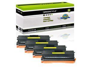 4× TN433 Yellow Toner Cartridge for Brother TN-433 TN433BK TN433C TN433M TN433Y