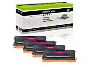4× TN433 Magenta Toner Cartridge for Brother TN-433 TN433BK TN433C TN433M TN433Y