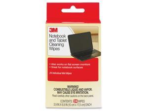 3M Computer Screen and Monitor Cleaning Wipes - 24 Pack