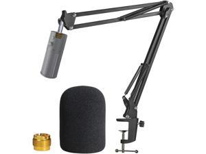 Razer Seiren X Boom Arm with Pop Filter - Mic Stand with Foam Cover Windscreen for Razer Seiren X Streaming Microphone