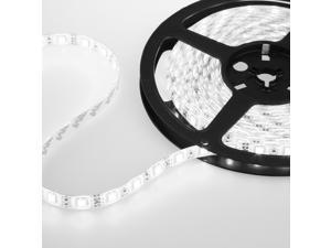 Flexible Cool White Waterproof Super Bright 5M 5050 SMD 300 LEDS  Strip light 12V US