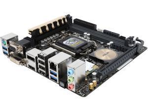 ASUS Z97I-PLUS LGA 1150 Intel Z97 HDMI SATA 6Gb/s USB 3.0 Mini ITX Intel Motherboard