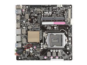 ASUS H110T LGA 1151 Intel H110 HDMI SATA 6Gb/s USB 3.1 Thin Mini-ITX Motherboards - Intel