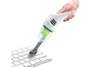 Keyboard Cleaner, Rechargeable Mini Vacuum Wet Dry Cordless Desk Vacuum Cleaner, Best Cleaner for Cleaning Dust,Hairs,Crumbs,Scraps for Laptop,Piano,Computer,Car and Pet House
