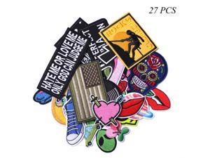 7 Styles Camera Embroidered Patches Embellishments Iron On