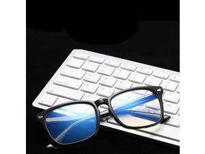 Anti-Fatigue Computer Mirror Eyeglasses Radiation Protection Blue Light Blocking Glasses Men Woman- Red