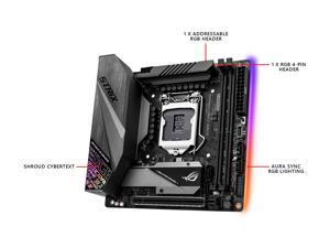 ASUS ROG Strix Z390-I Gaming Motherboard LGA1151 (Intel 8th and 9th Gen) Mini ITX (mITX) DDR4 DP HDMI M.2 USB 3.1 Gen2 Onboard 802.11 ac Wi-Fi