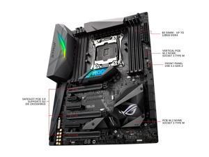 ASUS ROG STRIX X299-E GAMING LGA2066 DDR4 M.2 USB 3.1 802.11 AC WI-FI X299 ATX Motherboard for Intel Core i9 and i7 X-Series Processors