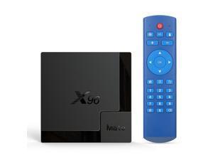 X96 Mate Android 10.0 Smart TV Box Allwinner H616 Quad-core UHD 4K Media Player HDR H.265 VP9 4GB / 64GB 2.4G & 5G WiFi BT5.0 100M LAN LCD Display Remote Control