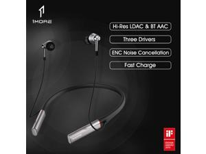 1MORE Triple Driver Bluetooth In-ear Headphones Hi-Res HiFi Sound Noise Cancellation Sports Earbuds E1001Bluetooth