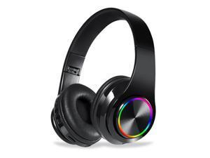 B39 RGB Luminous Wireless BT 5.0 Gaming Headset Stereo Headphone Foldablet Earphone Headphone Mic