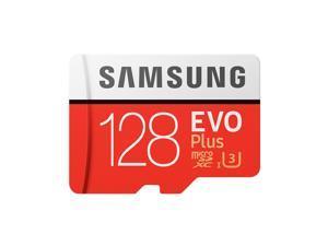 Samsung Memory 128GB EVO Plus MicroSDXC 100MB/s UHS-I (U3) Class 10 TF Flash Memory Card MB-MC128G High Speed for Phone Tablet Camera